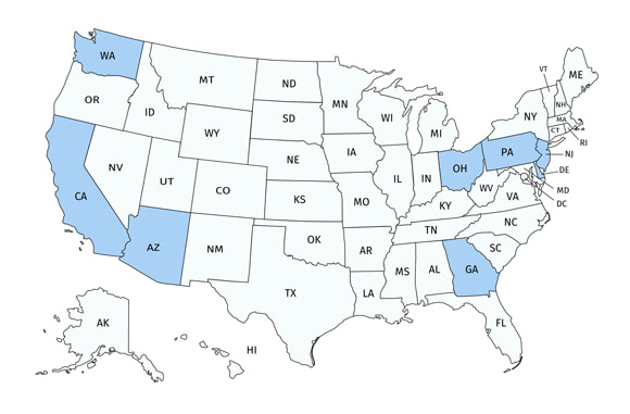 Commercial Auto States